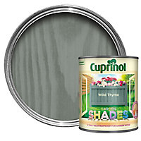 Cuprinol Garden shades Wild thyme Matt Wood paint, 1L