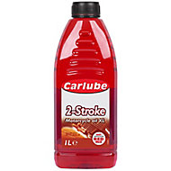 Carlube 2-Stroke Mineral Motorcycle Engine oil, 1L Bottle