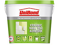 UniBond Ready to use Wall tile adhesive, Beige 7.4kg