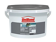 UniBond Grey Floor tile grout (W)3.75kg