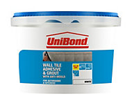 UniBond Ready to use Wall tile adhesive & grout, White 1.38kg
