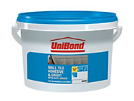 UniBond Ready to use Wall tile adhesive & grout, White 6.4kg