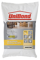 UniBond Beige Powder grout (W)5kg