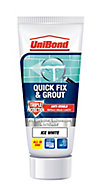 UniBond Ready mixed Ice white Wall Tile Adhesive & grout, 0.3kg