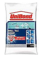 UniBond Black Tile Grout, 3kg