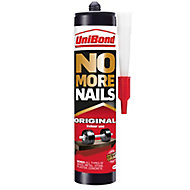 UniBond No more nails White Grab adhesive 280ml