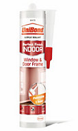 UniBond Window & Door White Frame Sealant 300 ml