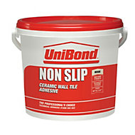 UniBond Non slip Ready to use Wall tile adhesive, Beige 14kg