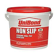 UniBond Non slip Ready mixed Beige Wall Tile Adhesive, 14kg