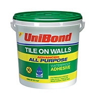 UniBond Advanced all purpose Ready to use Wall tile adhesive, Beige 14.75kg