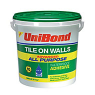 UniBond Advanced all purpose Ready mixed Beige Wall Tile Adhesive, 14.75kg