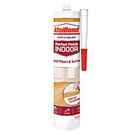 UniBond Perfect finish Light brown Floor Sealant, 300ml