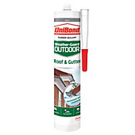 UniBond Weather Guard Outdoor Grey Roof & gutter sealant 300 ml