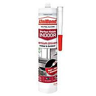 UniBond Perfect finish Translucent Silicone-based General-purpose Sealant, 300ml