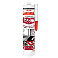 UniBond Perfect Finish Indoor Black General Purpose Sealant 300 ml