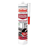 UniBond Perfect Finish Indoor Grey General Purpose Sealant 300 ml