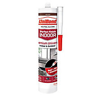 UniBond Perfect finish Brown Silicone-based General-purpose Sealant, 300ml