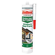 UniBond Weather Guard Outdoor Translucent Frame Sealant 300 ml