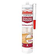 UniBond Perfect finish Translucent Flooring Sealant, 300ml