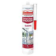 UniBond Perfect Finish Indoor Translucent Glazing Sealant 300 ml
