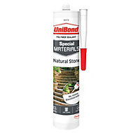 UniBond Special Materials White Natural Stone Sealant 300 ml