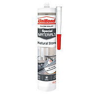 UniBond Special Materials Grey Natural Stone Sealant 300 ml
