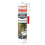 UniBond Special materials Beige Natural stone Building Sealant, 300ml