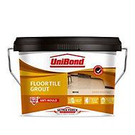 UniBond UltraForce Ready mixed Beige Floor Tile Grout, 3.75kg