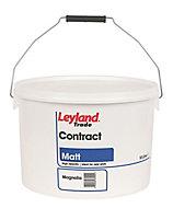 Leyland Trade Contract Magnolia Matt Emulsion paint, 10L