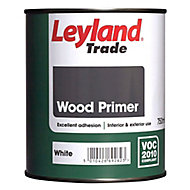 Leyland Trade White Wood Primer, 0.75L