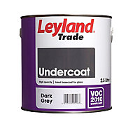 Leyland Trade Dark grey Metal & wood Primer & undercoat, 2.5L