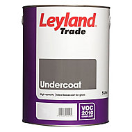 Leyland Trade Brilliant white Metal & wood Undercoat, 5L