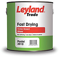 Leyland Trade White Gloss Metal & wood paint, 2.5L