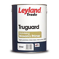 Leyland Trade Truguard Clear Masonry Stabilising primer, 5L