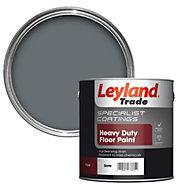 Leyland Trade Heavy duty Slate Satin Floor & tile paint 2.5L