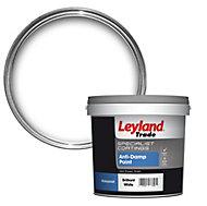 Leyland Trade White Mid sheen Anti damp paint 2.5L