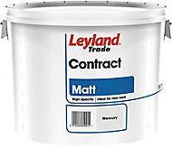 Leyland Trade Contract Mercury Matt Emulsion paint, 10L