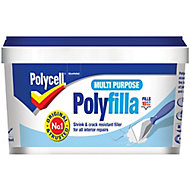 Polycell Grey Ready mixed Filler 600g