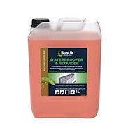 Bostik Orange Waterproofer & retarder, 5L Jerry can