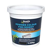 Bostik Black Powder colour, 1.25kg Tub
