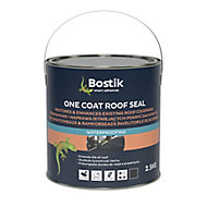 Bostik One coat Black Roof & gutter Sealant, 2.5L