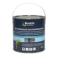 Bostik Black Roofing waterproofer, 2.5L