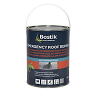 Bostik Emergency Grey Roofing waterproofer, 5L