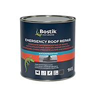 Bostik Emergency Black Roofing waterproofer, 1L