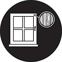 Yale White White Ventilation window lock