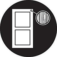 Yale White Metal Door bolt (L)122mm