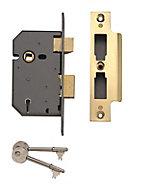 Yale 64mm Brass effect Metal 5 lever Sashlock