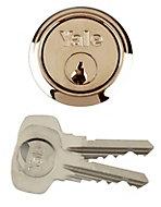 Yale Brass-plated Rim cylinder lock