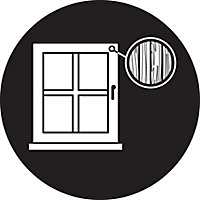 Yale White Metal Window Toggle lock, Pack of 2