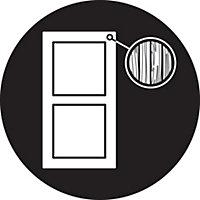 Yale Polished brass Door security bolt